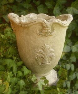 Pot de Fleurs Lis Terre Cuite Style Campagnard Décoration Jardin ...