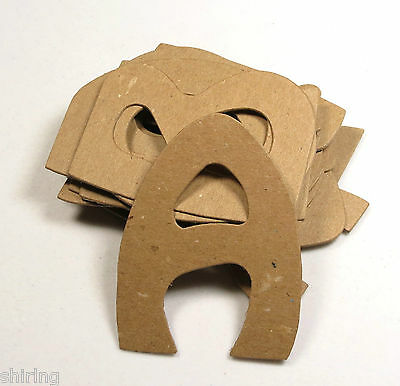 """Sizzix Serif Color Textured Chipboard Custom Alphabet Letters 2/"""" sticker avail."""