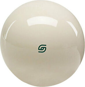 Aramith-GREEN-LOGO-Coin-Op-cue-ball-Replacement-2-1-4-inch-Magnet-Cue-Ball