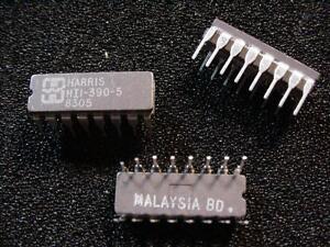 HI1-390-5-Dual-SPDT-Analog-Switch-Ceramic-DIP-16-Harris