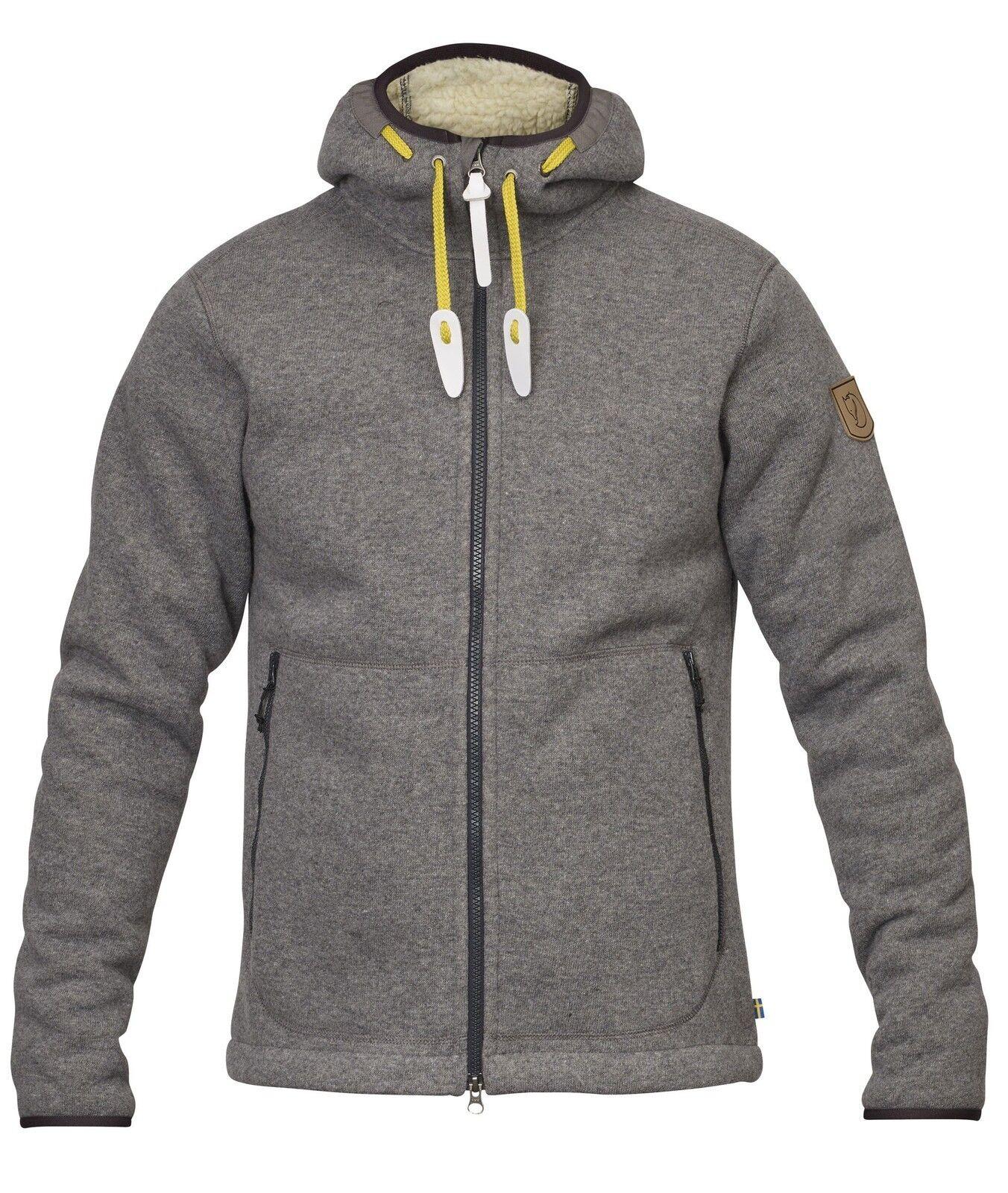 Scendendo Räven Polar Fleece Jacket M tg S grigio