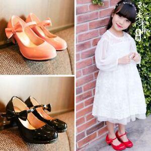 Fashion Children Girls High Heels Kids