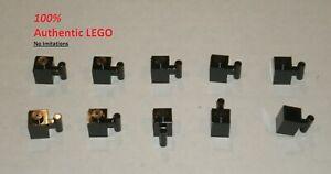 *NEW* 25 Pieces Lego BRICK WITH HANDLE 1x1 BLACK 2921