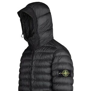 Stone Island Garment Dyed Micro Yarn Down Jacket Men's Black V0029 ...