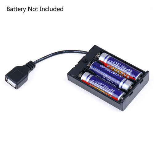 3*AA Battery box with usb port for Building block led light kit with Switc/%