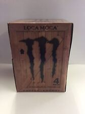 Monster Java Loca Moca 11oz Can 4PK . Coffee & Energy .1 Full 4PK Lot.