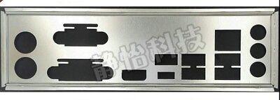 NEW I//O IO Shield Backplate For ASRock x370 killer sli Custom