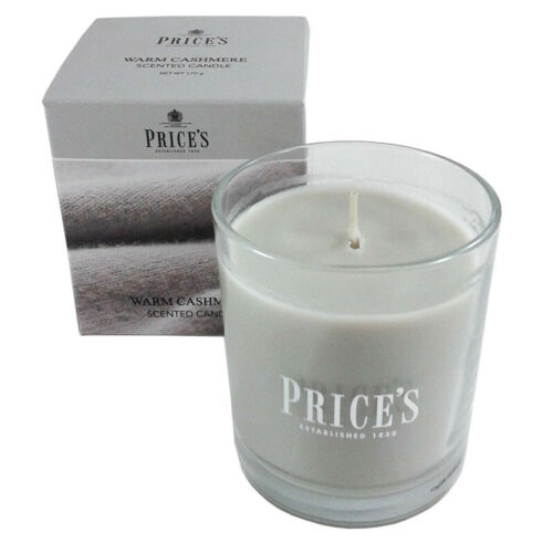 Prices Jar Candle Boxed Warm Cashmere Fragrance PSJ010650 NEW