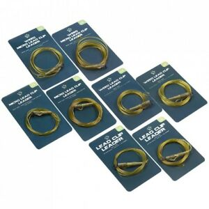 NASH TT LEAD CLIP TAIL RUBBERS D-CAM PACK OF 10 CARP FISHING TERMINAL TACKLE