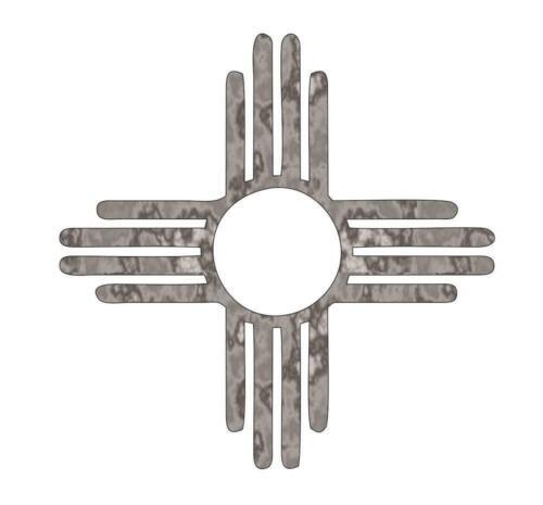 Zia Sign Plasma Cut Metal Shape XTR7-M