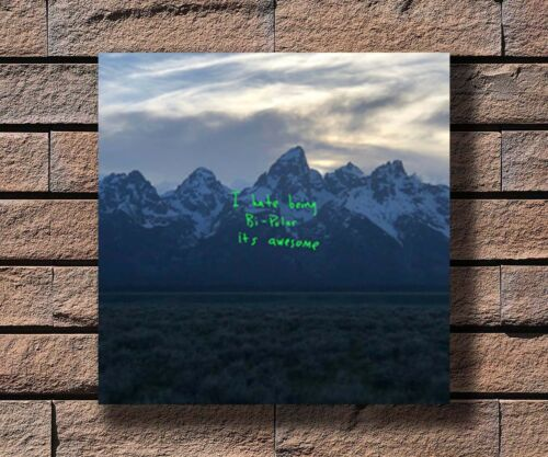 Hot Kanye West Ye 8th Album Love Everyone Cover Wyoming Poster 24 Art Gift P-19