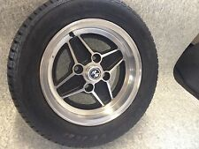 Ford Escort Mk1 RS 2000 Rs Mexico Four Spoke Wheel Center Caps (63mm)