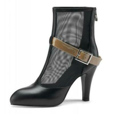 Details about  /Europe Women/'s Ladies Zip Up Pointy Toe Cone Heel Casual Ankle Boots Outdoor L