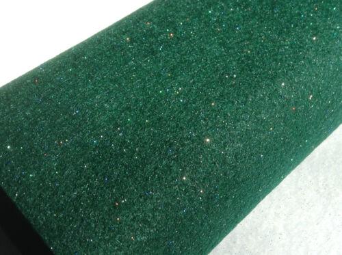 Size: A4 sheet  GREEN Glitter Felt Sparkly Felt sheets sparkles