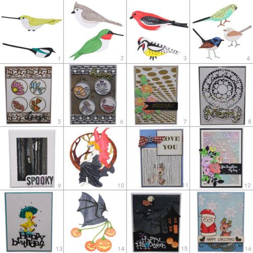 Christmas Birds Metal Cutting Dies Stencil DIY Scrapbooking Album Paper Card Art