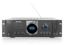 2500W DJ PROFESSIONAL HOME AUDIO DIGITAL STEREO 2 CHANNEL POWER AMP AMPLIFIER FM