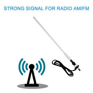 Marine-FM-AM-Radio-Antenna-Rubber-Duck-Dipole-Flexible-Mast-for-Boat-Car-ATV-UTV