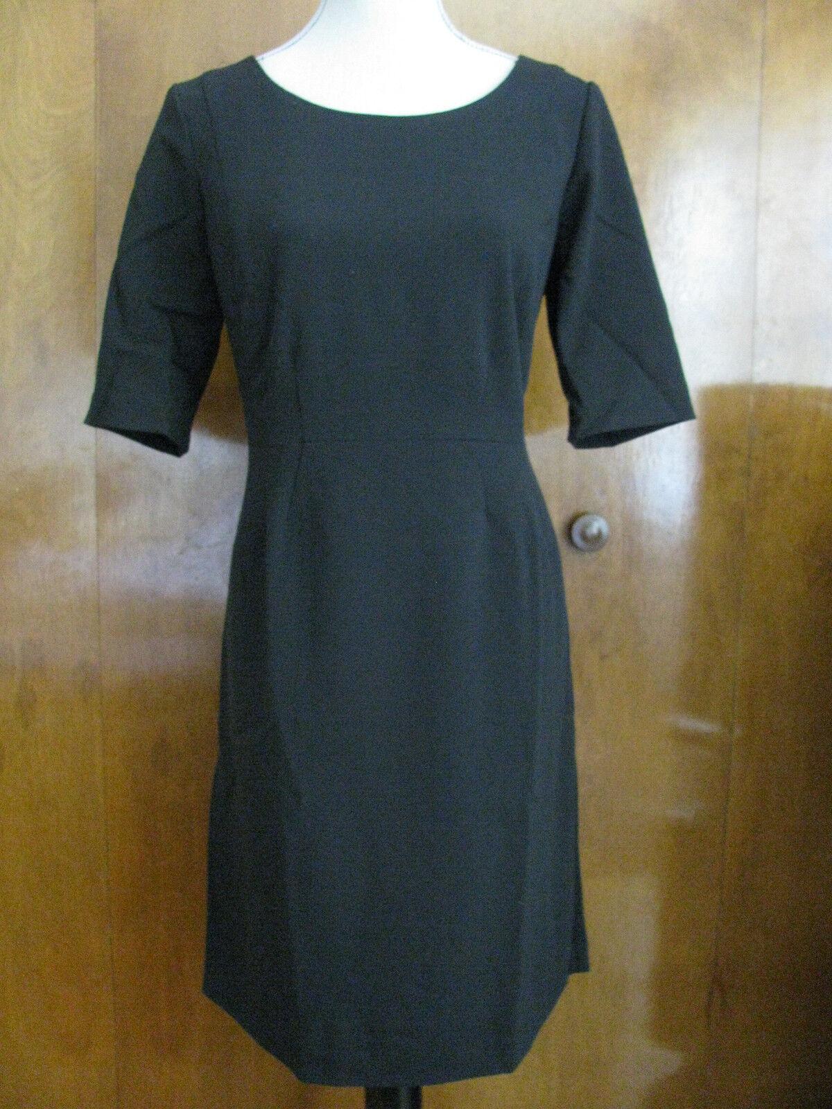 Gap damen schwarz pleated empire seam dress Größe 2 and Größe 12 NWT