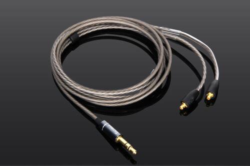 Silver Plated Audio Cable For FENDER DXA1 PRO FXA2//6//7 PRO FXA9 Headphones