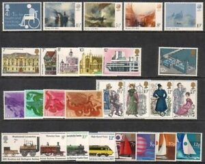 GB-1975-Commemorative-Stamps-Year-Set-Unmounted-Mint-UK-Seller