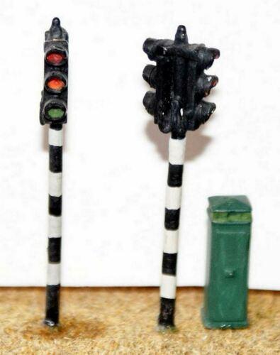 Zwilling Kopf Straßenverkehr Licht Verpackung F29p Bemalt Oo Skala Modell 1//76
