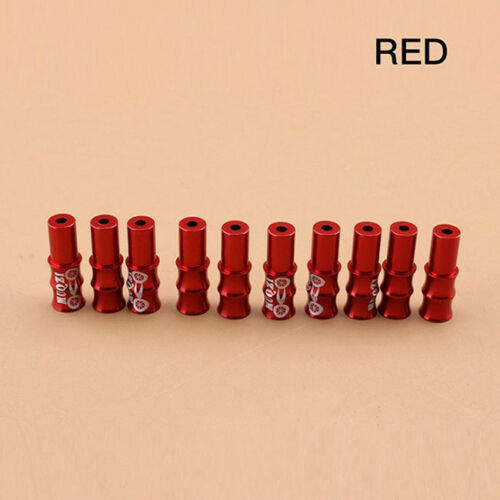 10Pcs Bike Bicycle Shifter Brake Gear Inner Cable Ends Caps Crimps Ferrules LE