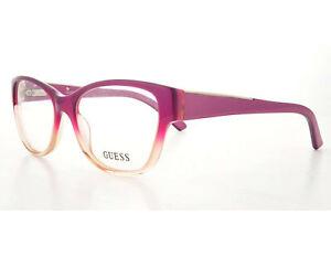 ebbc2cb25f71a NEW Guess GU 2383 O24 52mm Purple Optical Eyeglasses Frames ...