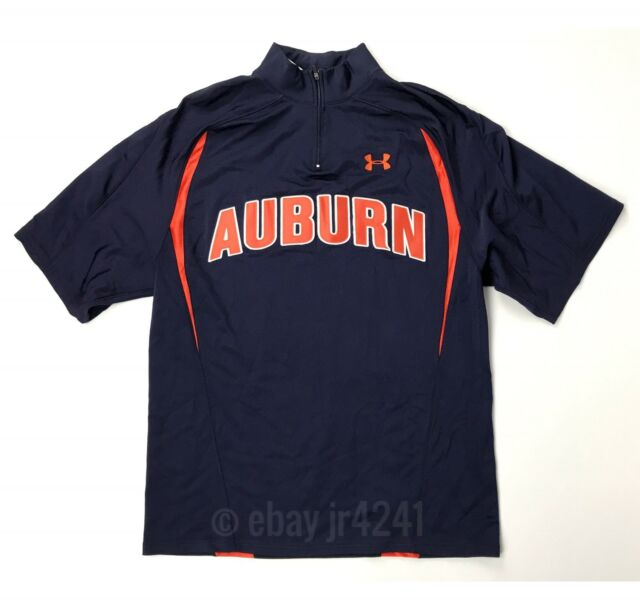 New Under Armour Women S M Auburn Tigers Custom S S Basketball Shooter Navy Blue