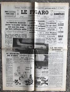 N126-La-Une-Du-Journal-Le-Figaro-4-Mars-1968