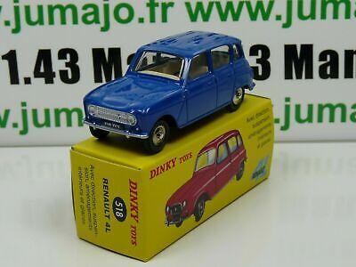 DT33E Voiture réédition DINKY TOYS atlas 518 Renault 4 Spain Blue