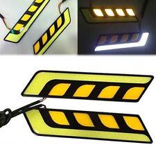 2pcs 17CM 5COB Chip LED Car DRL Daytime Running Light Fog Turn Signal Lamp