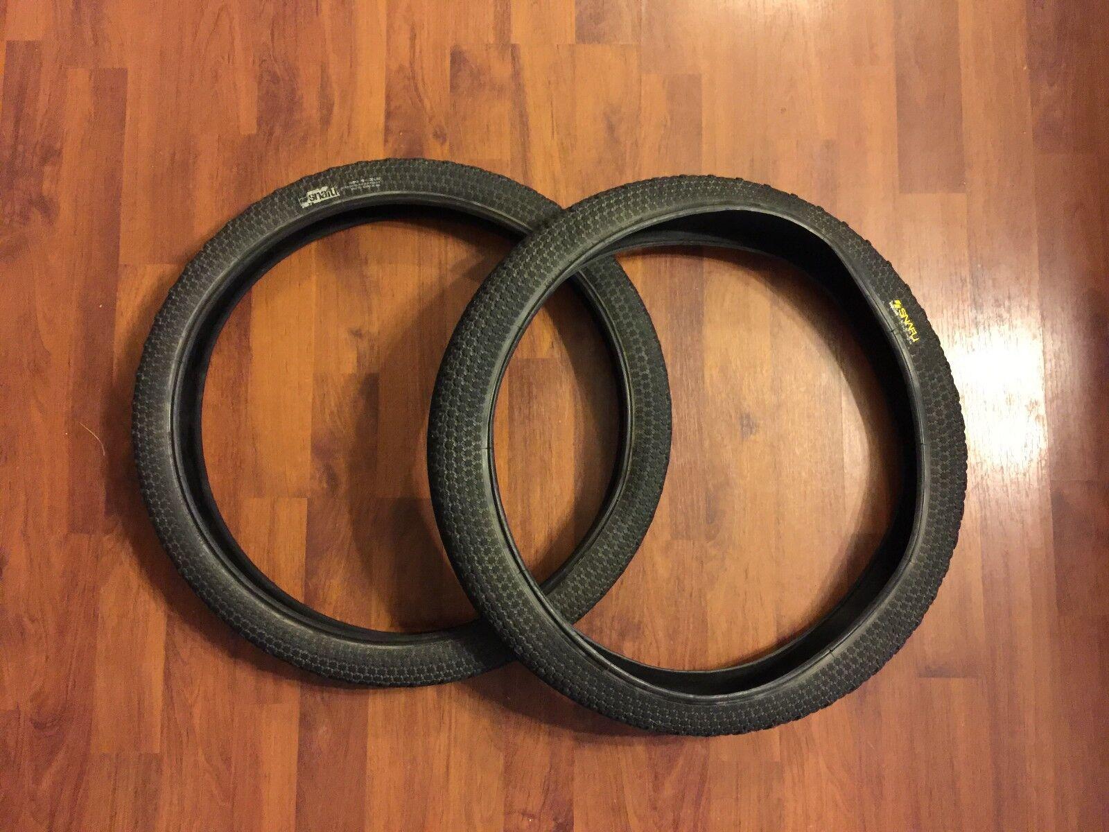 Snafu Malcolm BMX Bike Tires - 20 X 2.1 Steel Bead 100 PSI