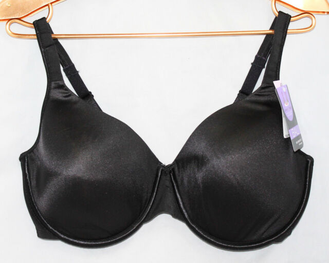 2a8bfc1165ad5 Bali Style 3470 One Smooth U Underwire Bra Size 42d Black With Tags ...