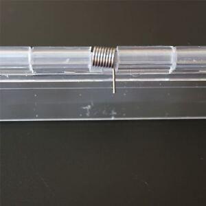 Acryl-Scharnier-150mm-DURCHSICHTIG-Scharniere-Bestaendige-Klares-Acryl-Kunststoff