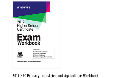 2017 HSC Primary Industries and Agriculture Workbook 9781743011829 | eBay