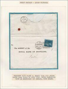 1868-SG45-2d-BLUE-PLATE-9-SCOTTISH-COVER-EDINBURGH-STARS-DUPLEX-TO-PERTH-FD
