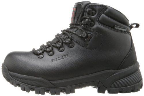 77015 skechers Uomo vostok resistenti a scarponi da lavoro lavoro lavoro comp piedi neri a6b86d