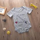 Cute Neonati bambini Baby Boy Di Cotone Da Tuta Monopezzo Estivo Vestiti Outfit
