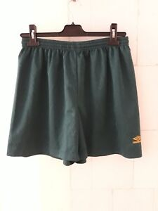 Vintage-90s-Umbro-Football-Training-shorts-Mens-36-L-Large-in-green-retro
