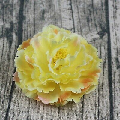 Mix 7 colors Artificial Silk Rose Peony Flower Heads Bulk Craft Wedding Decor