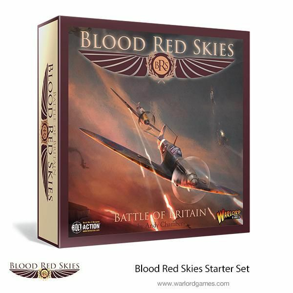 Warlord Games Blood Red Skies BATTLE OF GRAN BRETAGNA (inglese) britannico