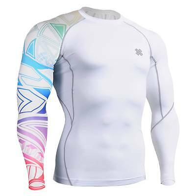 FIXGEAR CP-W1 Compression Skin Tights Under Shirts Fitness GYM MMA Workout