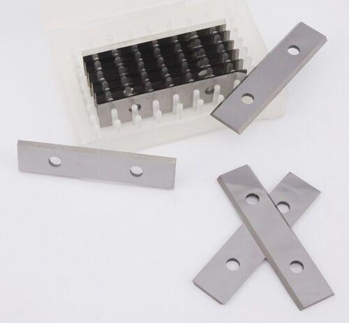 50 x 12 x 1.5 mm carbure réversible Tour lames réversibles Astuce couteaux 10 pces