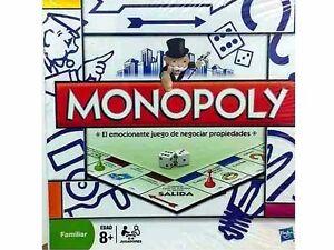 Monopolio Modular Original De Hasbro Nuevo Juego De Mesa Dinero