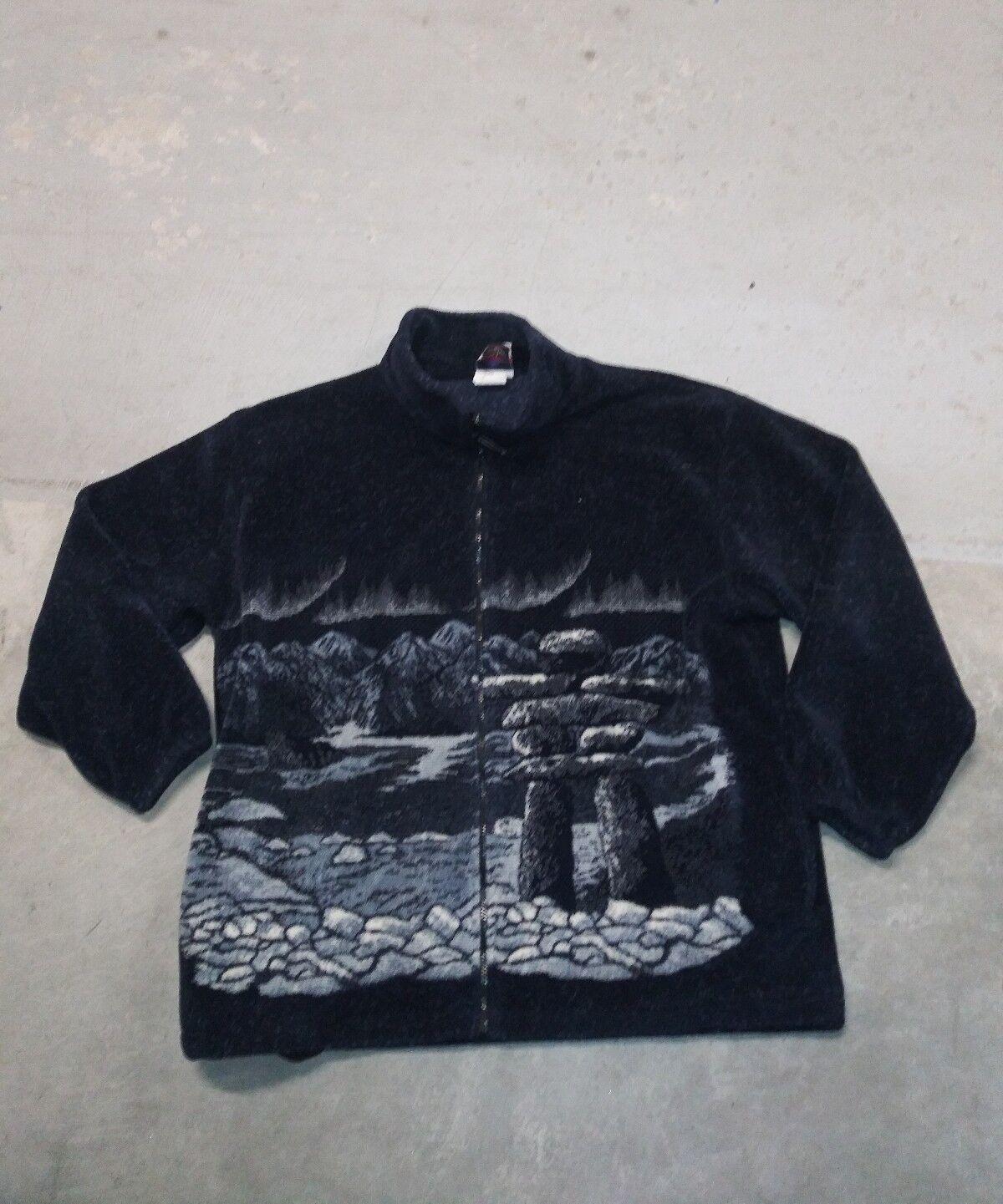 Northern Lifestyles Sweater Zipper Fleece Made In Canada Größe 2XL