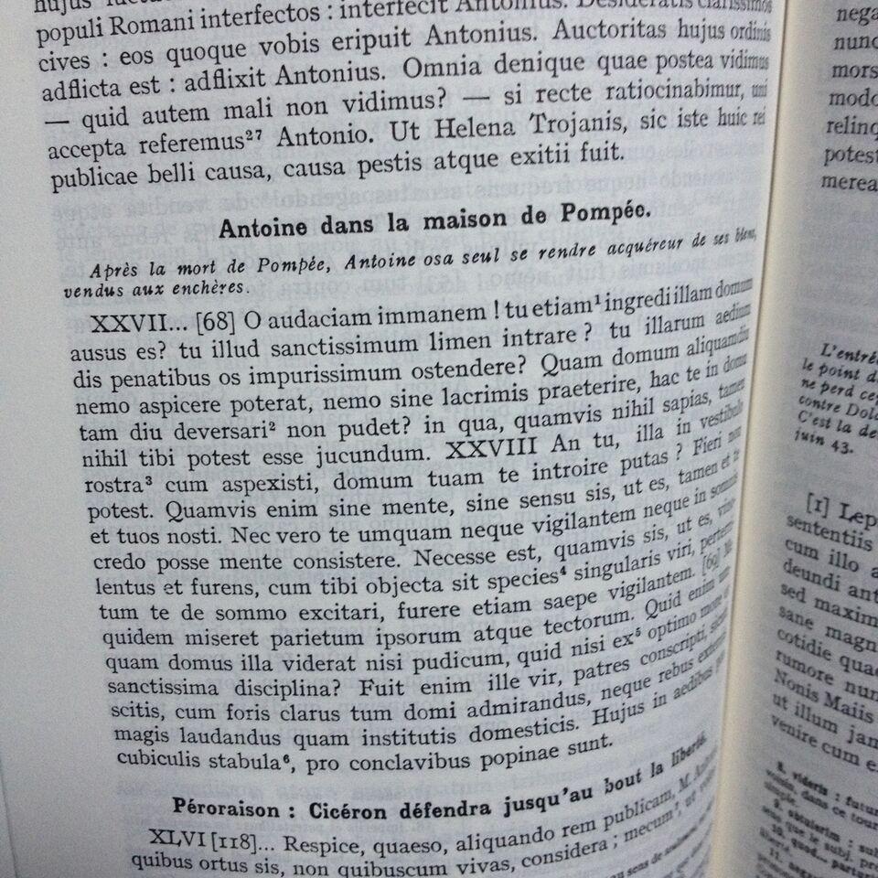 latin, fransk