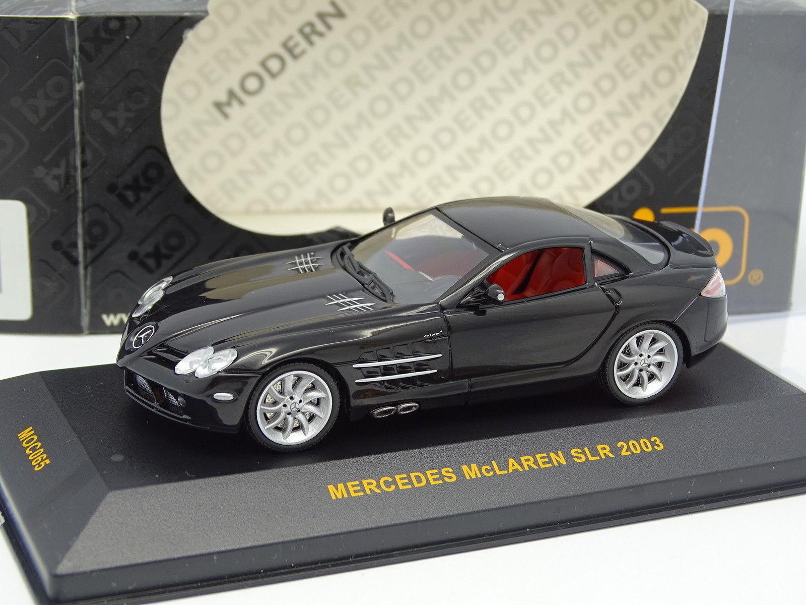 Ixo Ixo Ixo 1 43 - Mercedes SLR McLaren 2003 black d2c9b3