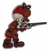 Looney Tunes Elmer Fudd 3  Tall Embroidered Iron On/sewn On Patch
