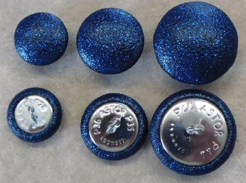 Polsterknöpfe mit Kunstleder metallic oder Glitter überzogen