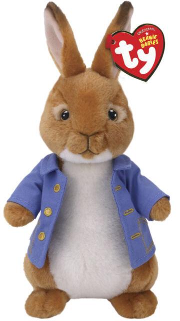 2018 Ty Beanie Baby Peter Rabbit The Movie Plush Stuffed Animal